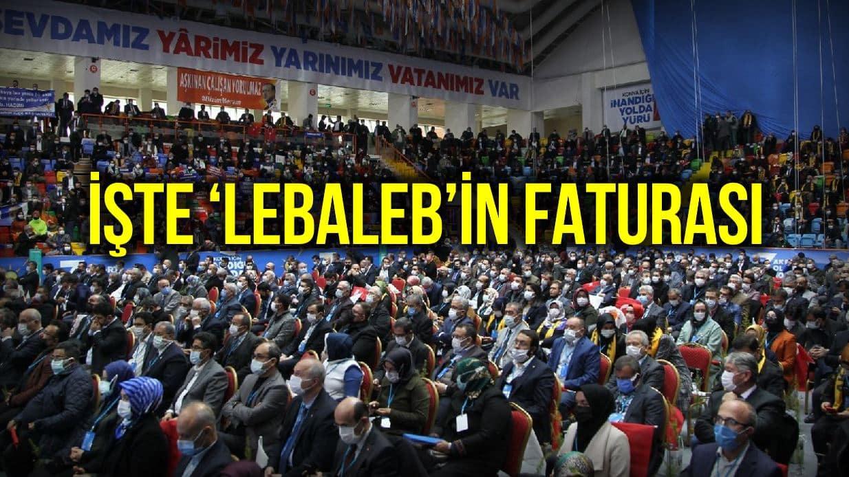 lebaleb AKP kongrelerinin yapıldığı illerde vaka artışları yaşandı!