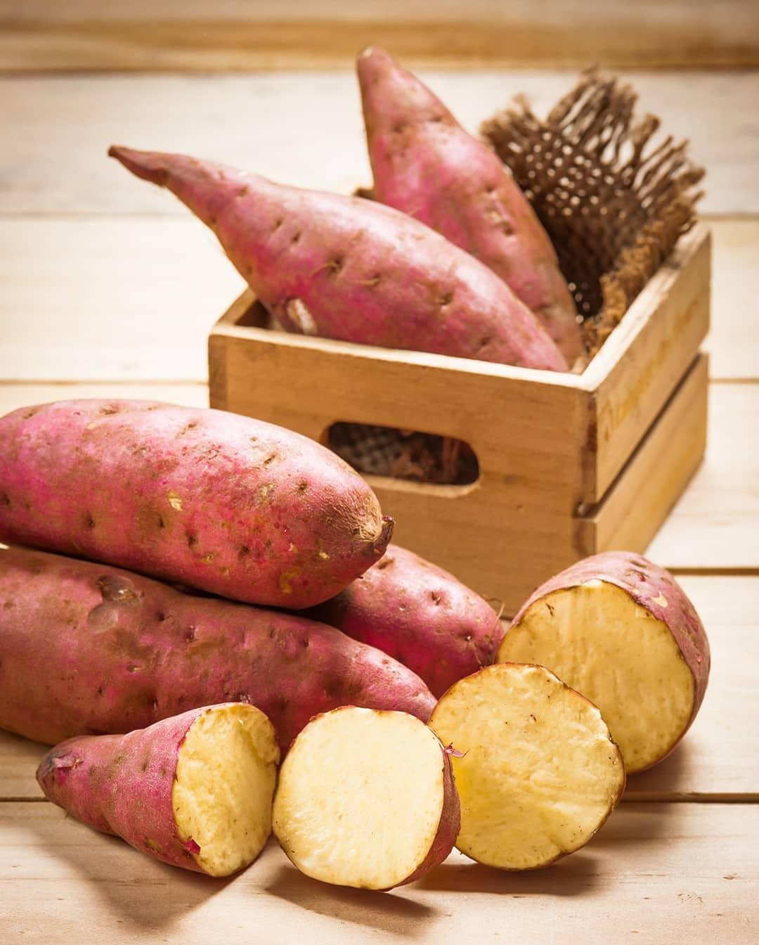 mor tatlı patates kanser