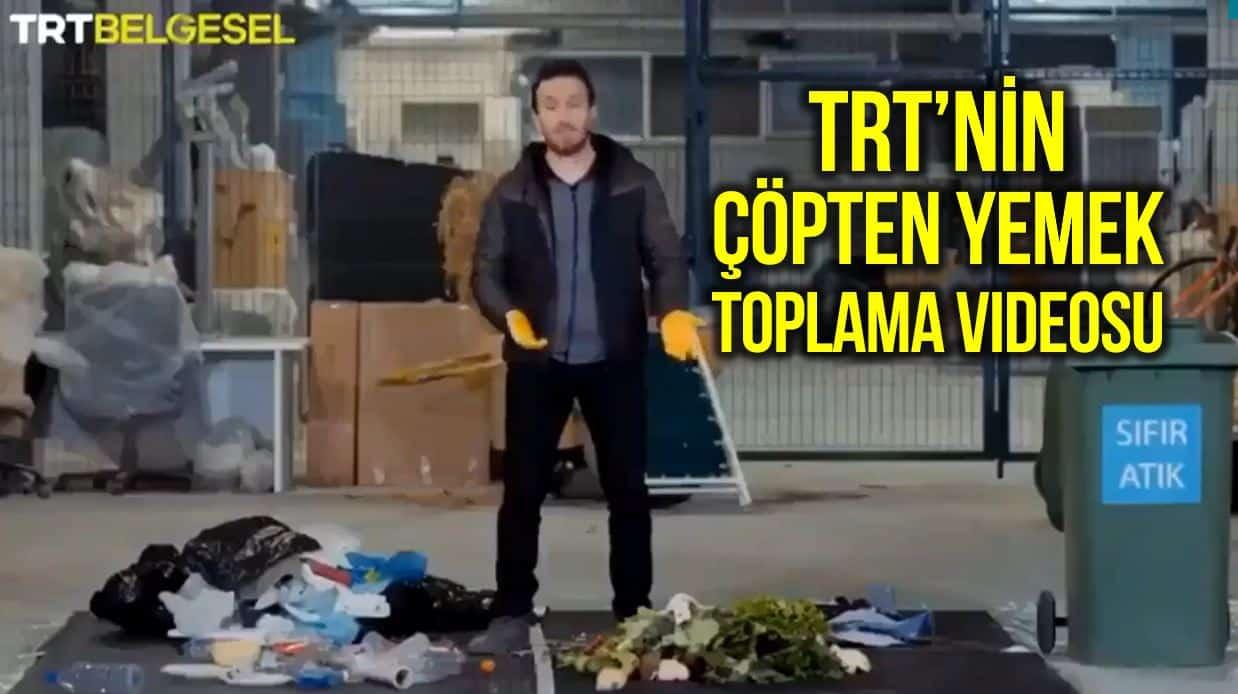 trt belgesel çöpten yemek