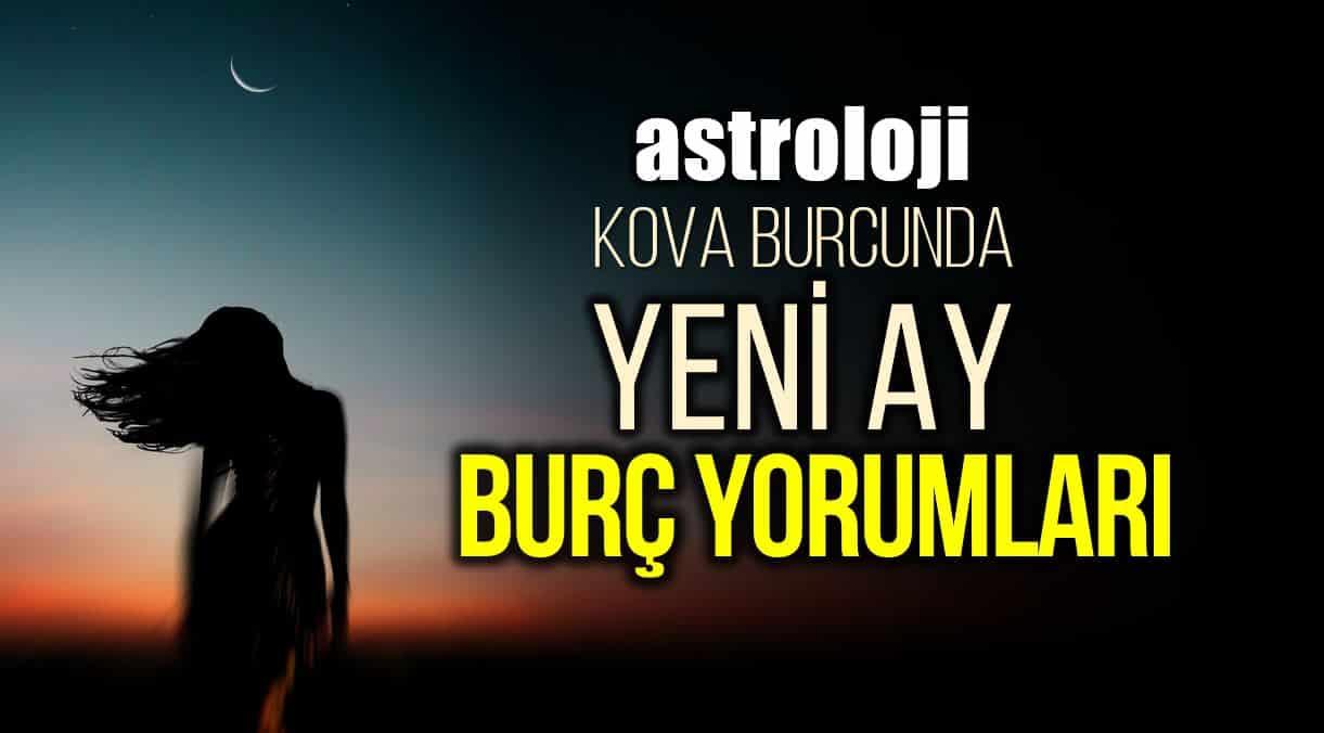 Astroloji: 11 Şubat Kova burcunda Yeni Ay burç yorumları
