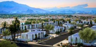 california 3D yazıcıdan çıkma doğa dostu villalar