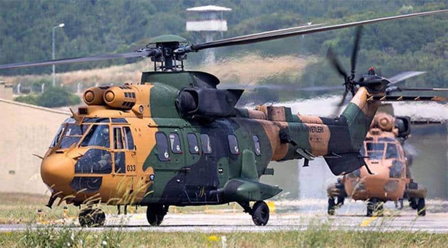 AS532 Cougar helikopter TSK