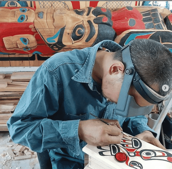 tlingit kızılderili oyması
