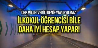 Avrasya Tüneli için 54 milyon dolar ödenecek!