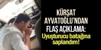 Kürşat Ayvatoğlu açıklama: