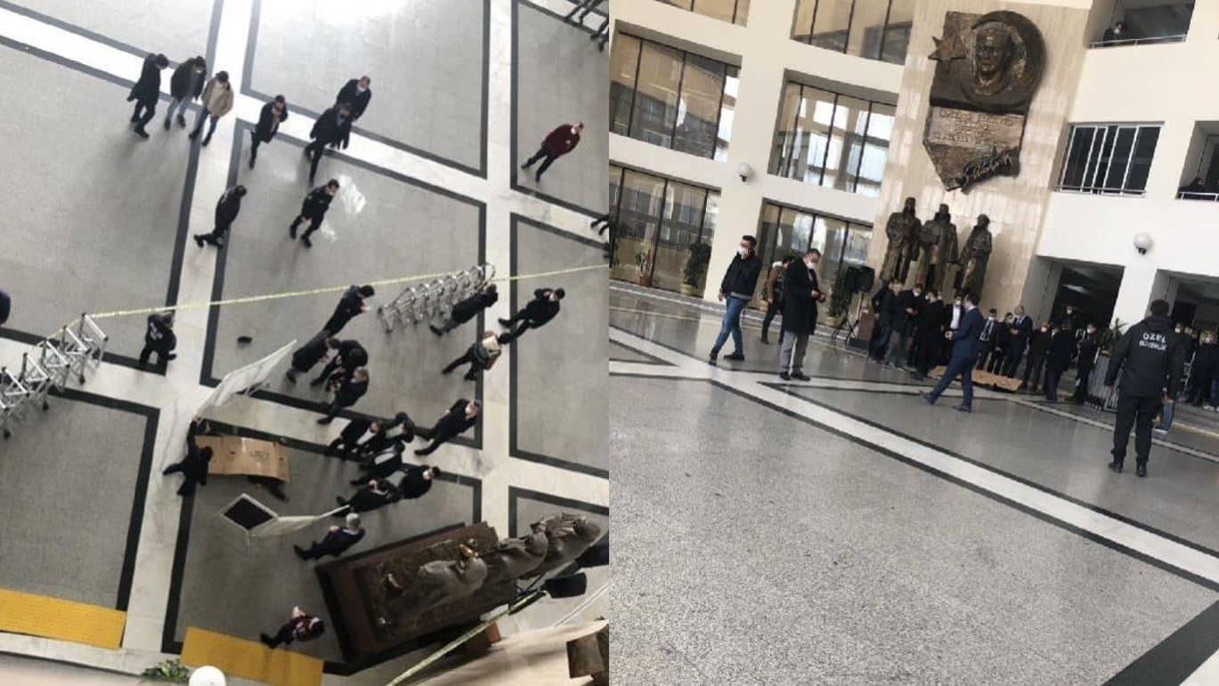 Bakırköy Adalet Sarayı intihar