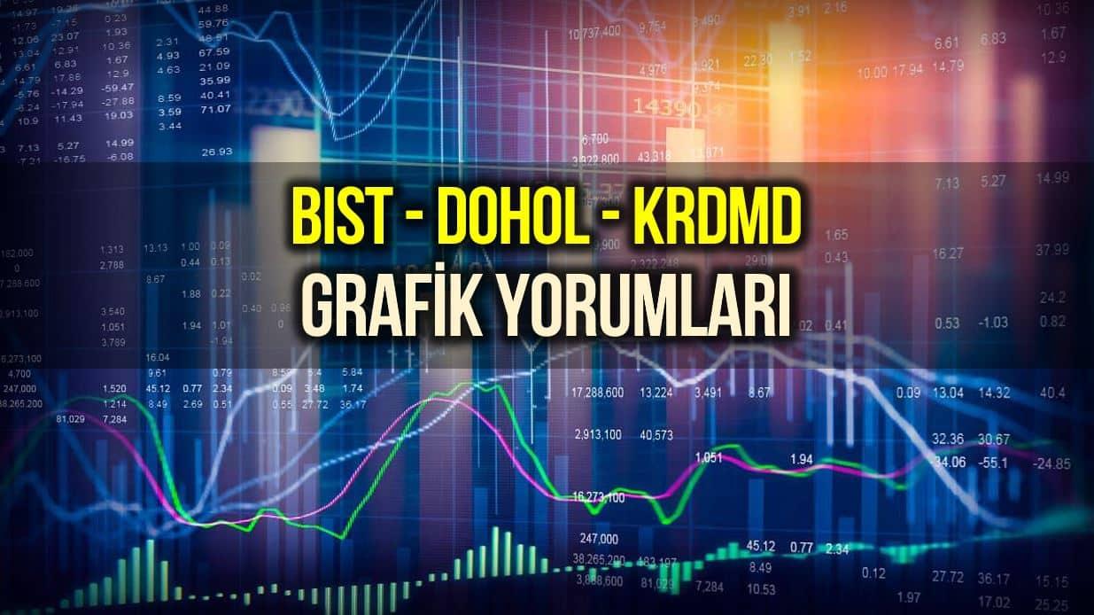 BIST, DOHOL ve KRDMD Grafik