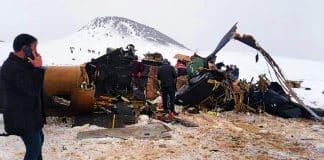 Bitlis Tatvan kırsalında askeri helikopter düştü: 11 şehit