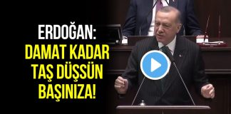 Cumhurbaşkanı Erdoğan: Damat kadar taş düşsün başınıza!