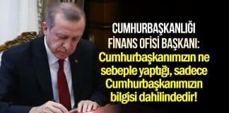 Cumhurbaşkanlığı Finans Ofisi Başkanı