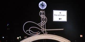 antalya gazipaşa osmanlı tuğralı saat