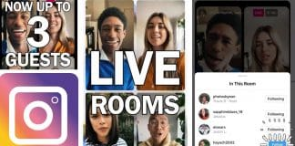 instagram live rooms canlı oda