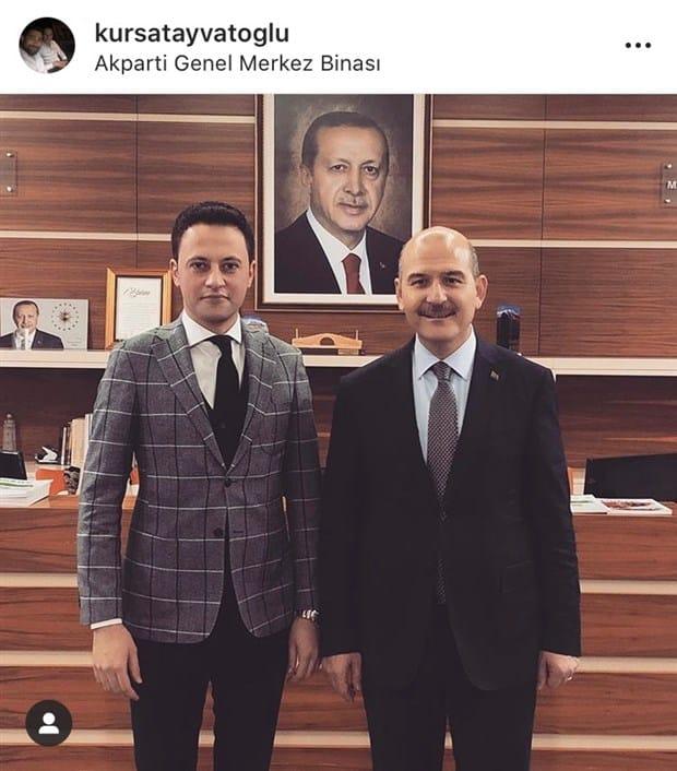 Kürşat Ayvatoğlu, İçişleri Bakanı Süleyman Soylu ile birlikte