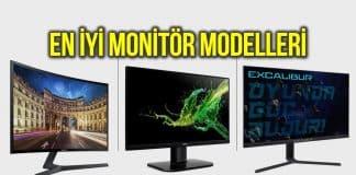 monitör modelleri