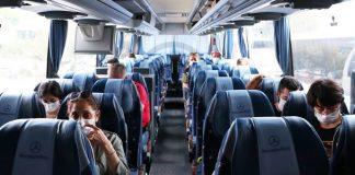 otobüs seferleri yüzde 50 kısıtlama kaldırıldı