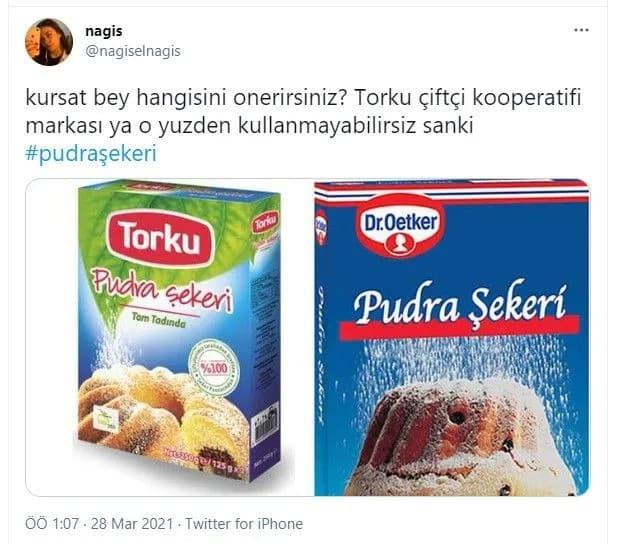 pudra şekeri markaları