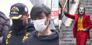 Bir günde 6 kişiyi bıçaklayan Afgan uyruklu genç yakalandı: Joker karakterine özenmiş