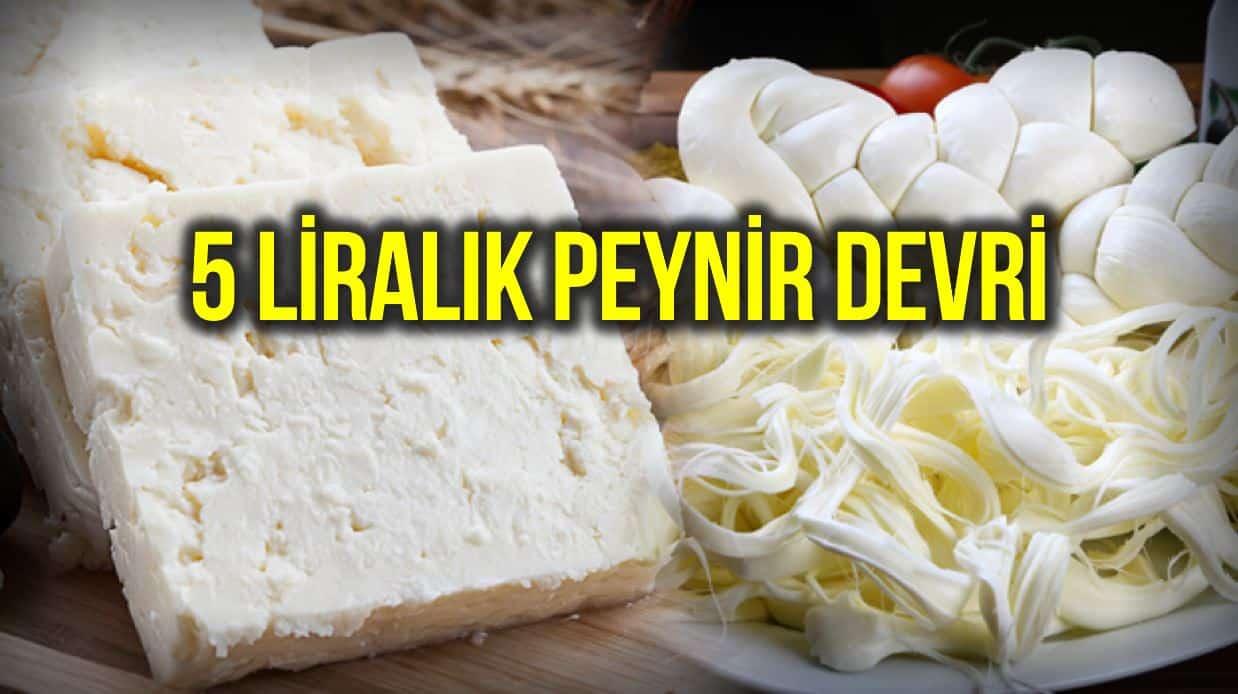 Şarküteri reyonunda kilo, gram hesabı bitti: 5 liralık peynir devri!