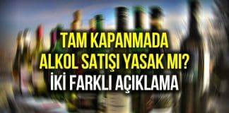 alkol satışı