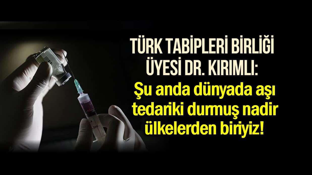 aşı tedariki