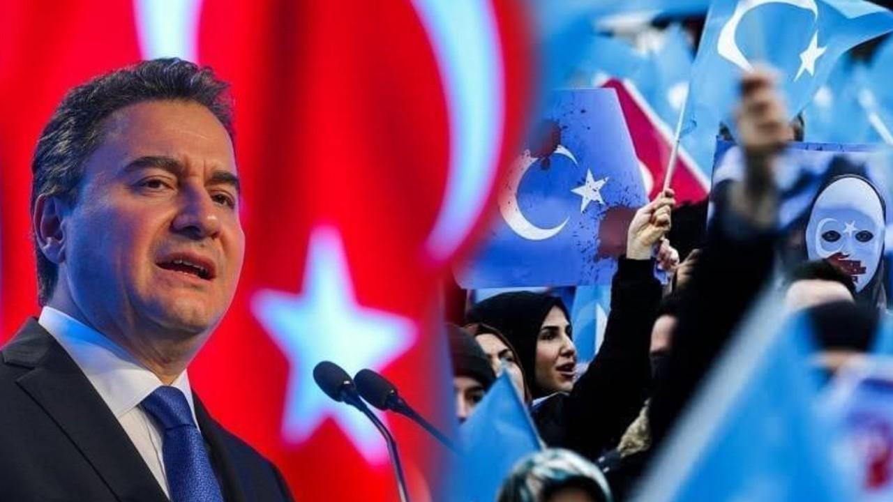 ali babacan doğu türkistan uygurlar