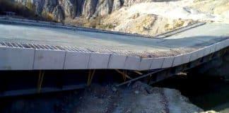 çalköy köprüsü çöktü