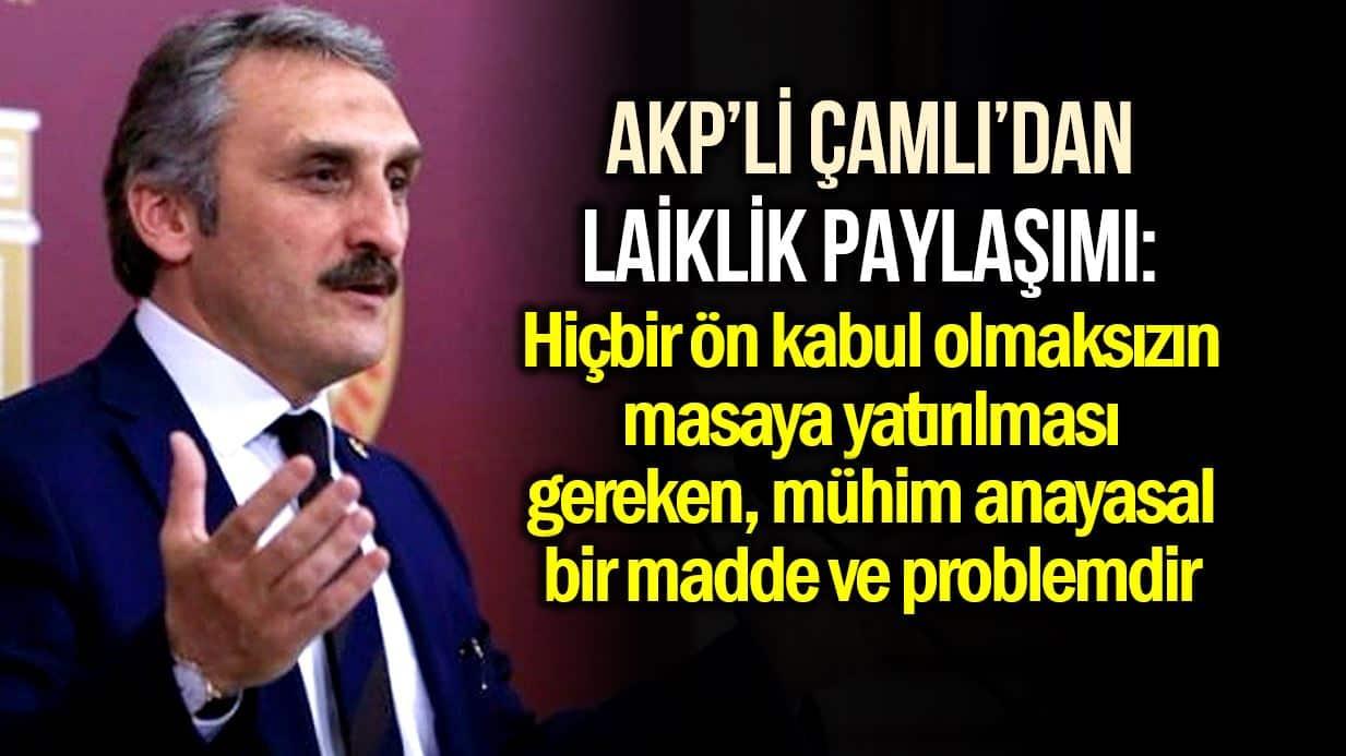 Ahmet Hamdi Çamlı laiklik