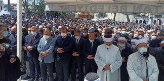 kalabalık cenaze