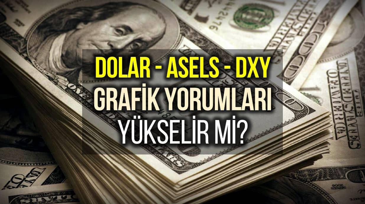 Dolar Grafik, Aselsan Hisse ve USD Endeksi Grafik Yorumları: Yükselir mi?