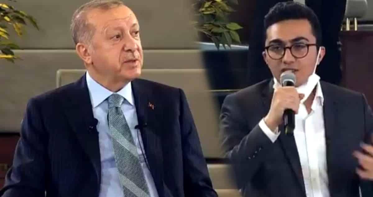 erdoğan işsiz yanıt