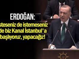 Erdoğan: Kanal İstanbul projesi için yakında ihaleye çıkıyoruz