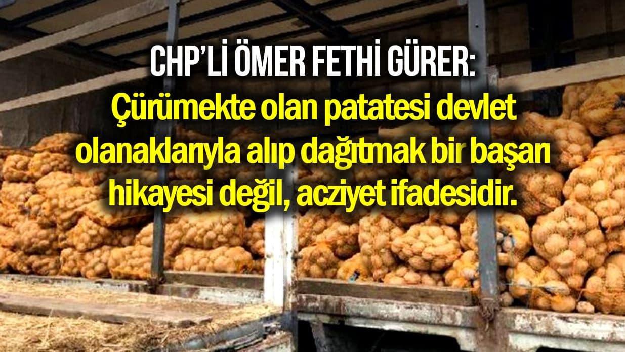 patates dağıtımı