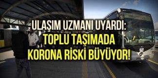 Kademeli mesai uygulanmadı: İstanbul toplu taşımada korona riski büyüyor!