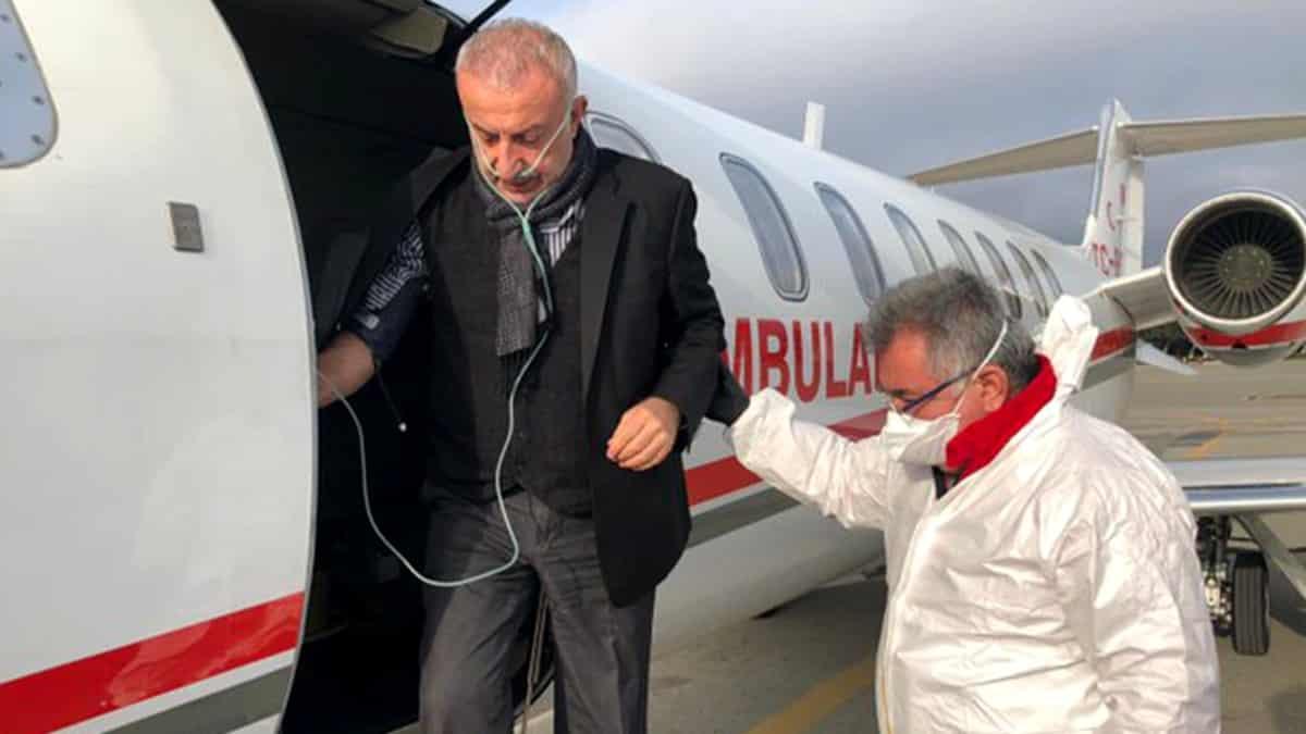 İş insanı surur aydın için Sağlık Bakanlığı özel ambulans uçak gönderdi!