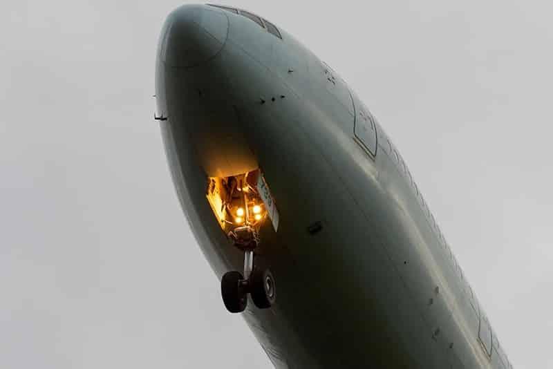 uçak tekerleği
