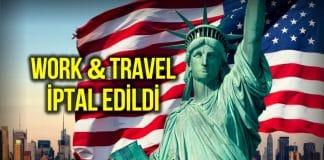 ABD, Work and Travel vizesi vermeyecek