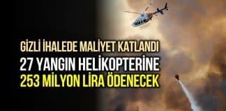 Yangın söndürme helikopteri