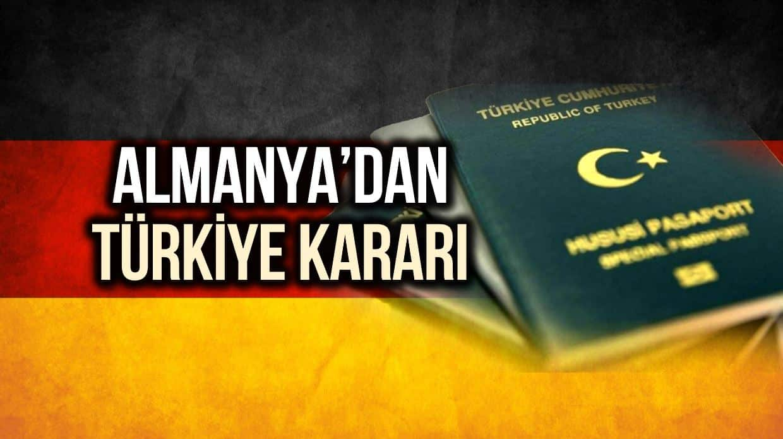 almanya türk pasaport