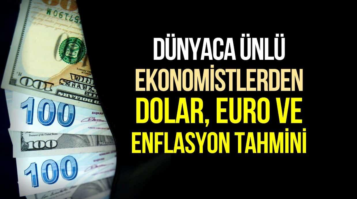Dolar Euro tahmini