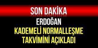 erdoğan normalleşme
