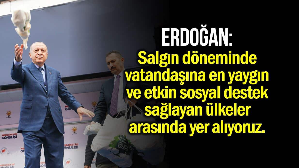 erdoğan destek
