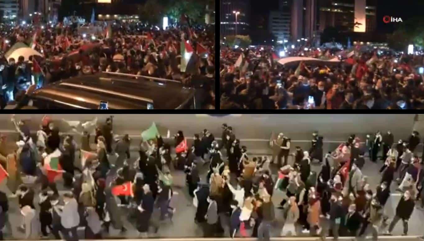 israil protesto