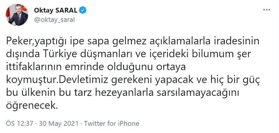 oktay saral
