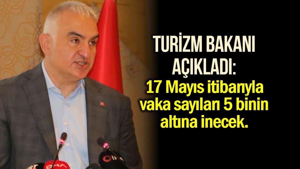 Turizm Bakanı Ersoy
