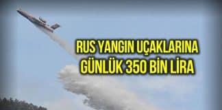 yangın söndürme uçağı
