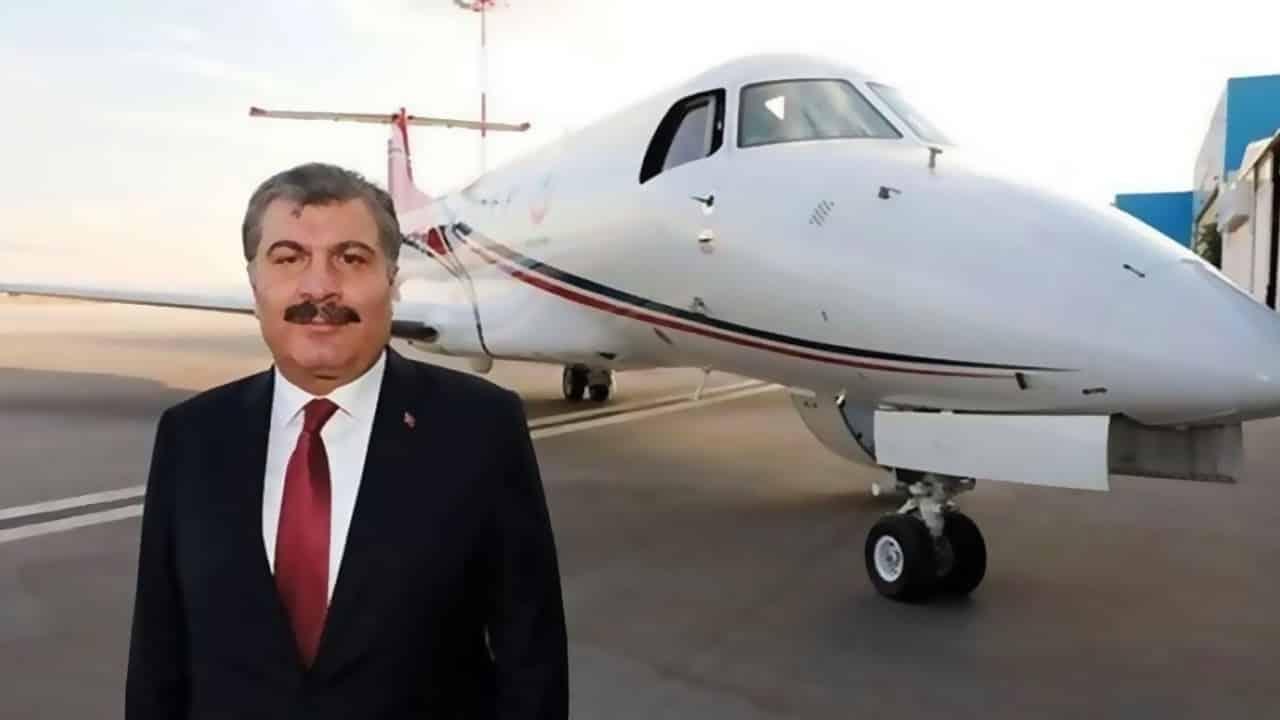 Katarlı ambulans uçak