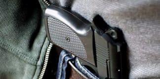 belindeki tabanca