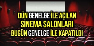 sinema genelge
