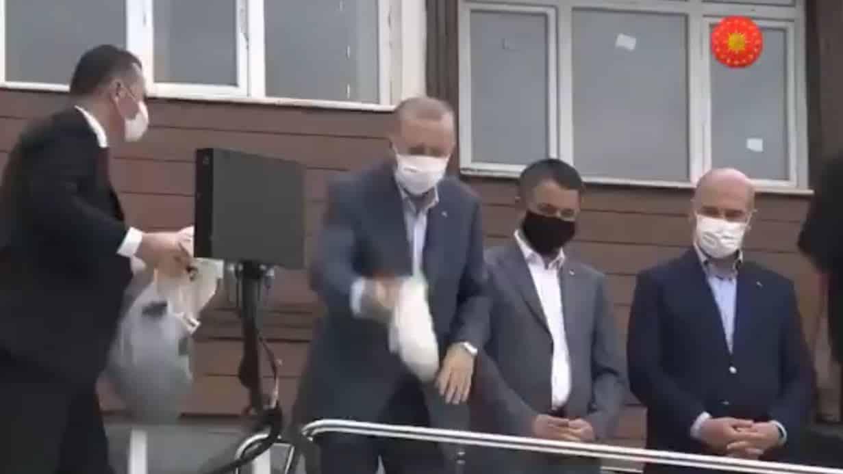 Erdoğan rize çay