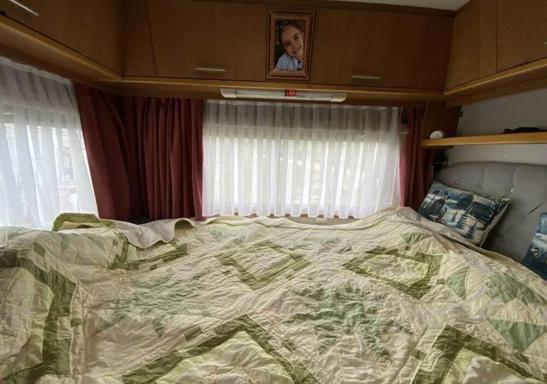 karavan yatak
